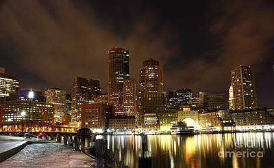 Photograph - Boston Skyline by Theresa Ramos-DuVon