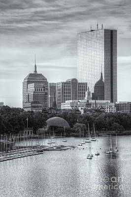 Photograph - Boston Skyline V by Clarence Holmes