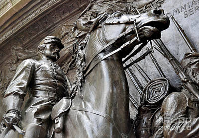 Photograph - Robert Gould Shaw Memorial by Staci Bigelow