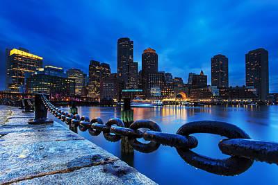 Boston Photograph - Boston Strong by Christopher Villandry
