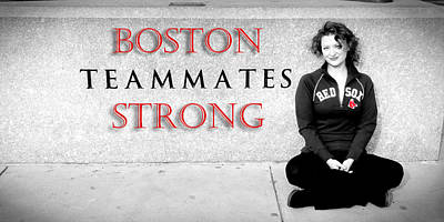 Boston Strong Art Print by Greg Fortier