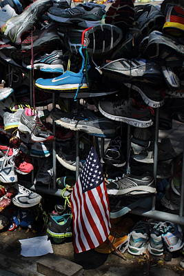 Photograph - Boston Strong  by Jeff Heimlich