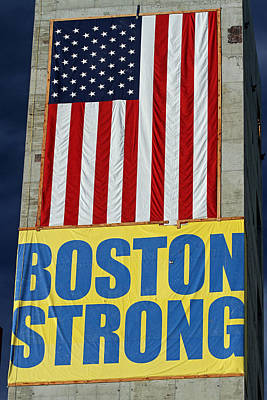 Strong America Photograph - Boston Strong by Juergen Roth