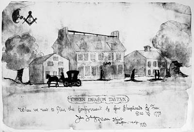 Photograph - Boston: Tavern, 1773 by Granger