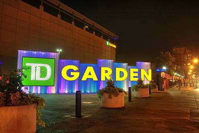 Photograph - Boston - Td Garden by Joann Vitali