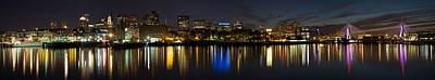 Photograph - Boston Twilight by Dave Files