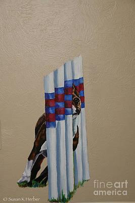 Painting - Boston Weaving by Susan Herber