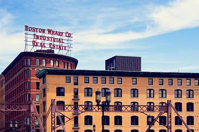 Boston Photograph - Boston Wharf Company by Alexander Voss