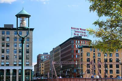 Photograph - Boston Wharf Real Estate by Kristin Elmquist