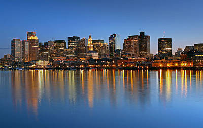 Boston You Are My Home Art Print by Juergen Roth