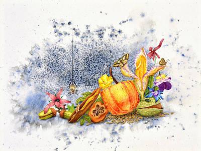 Painting - Botanical 1 by Sam Davis Johnson