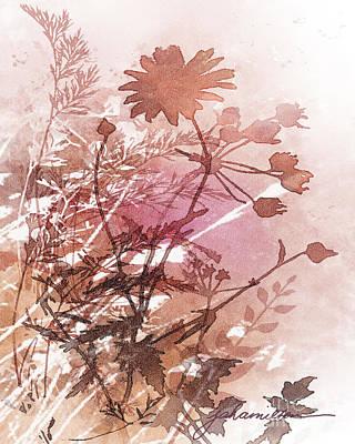 Painting - Botanical 2 by Joan A Hamilton