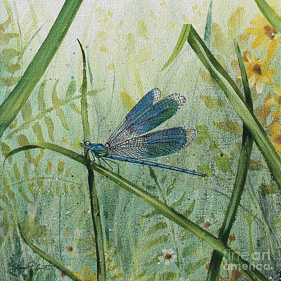 Jean Plout Painting - Botanical Beauties-jp2546 by Jean Plout