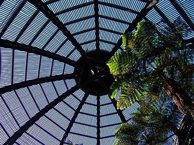 Botanical Building Atrium - Balboa Park Art Print by Glenn McCarthy