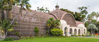 Botanical Building In Balboa Park, San Art Print