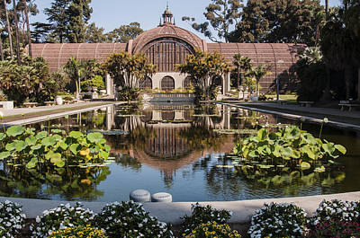 Photograph - Botanical Building Reflecting In The Lily Pond At Balboa Park 2 by Lee Kirchhevel