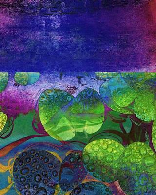 Botanical Elements II Art Print by Ricki Mountain