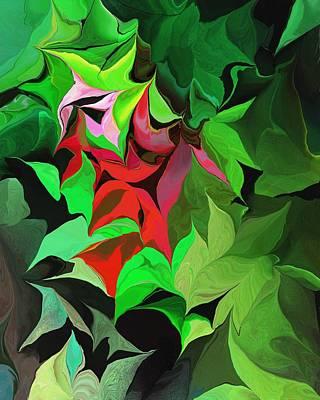Digital Art - Botanical Fantasy 071613 by David Lane