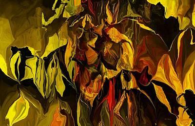 Digital Art - Botanical Fantasy 080813 by David Lane