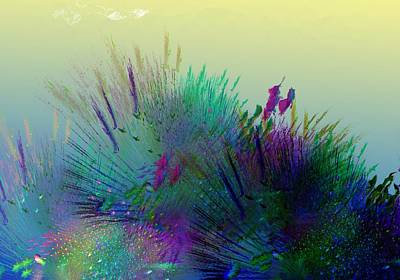 Digital Art - Botanical Fantasy 120913 by David Lane