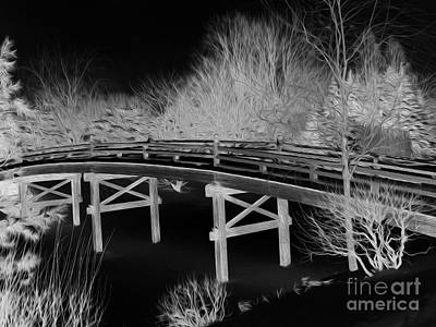 Photograph - Botanical Garden Bridge by David Bearden