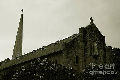 Botanical Gardens Cathedral Art Print by Cheryl Boutwell