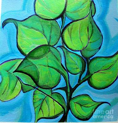 Painting - Botanical Leaves by Grace Liberator