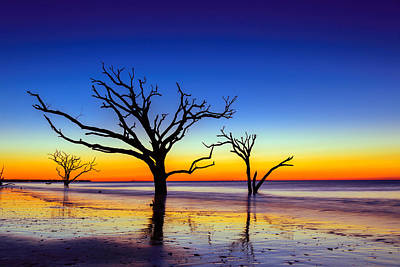 Photograph - Botany Bay Sunrise On Edisto Island South Carolina by Serge Skiba
