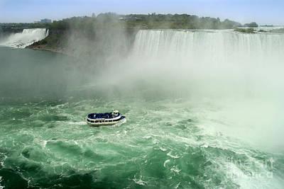 Photograph - Both Niagaras by Brenda Kean
