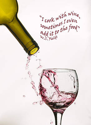 Bottle Done - Text Art Print by Matthew Thomson