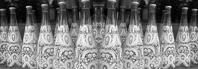 Photograph - Bottle Line-up by Nina Silver