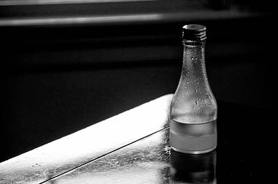 Bottle Near Window Art Print by Guillermo Hakim