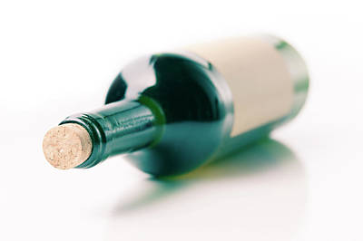 Of Wine Bottles Photograph - Bottle Of Wine by Wladimir Bulgar