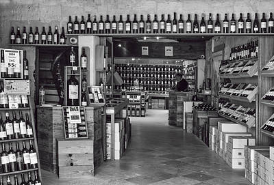 Wine Cellar Photograph - Bottle Shop by Georgia Fowler