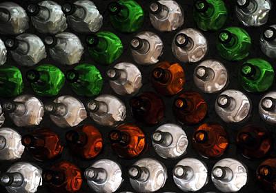 Wall Art - Photograph - Bottle Wall by Mark Sullivan