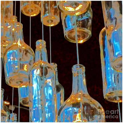 Photograph - Bottle Wall by Susan Garren