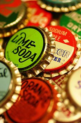 Bottlecaps Art Print by Andrew Stolte
