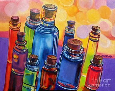 Bottled Rainbow Art Print