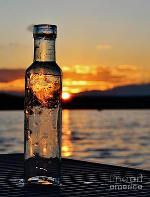 Photograph - Bottled Sun by Karin Pinkham