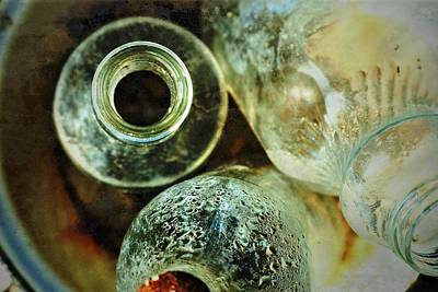Photograph - Bottles by Mark Ross