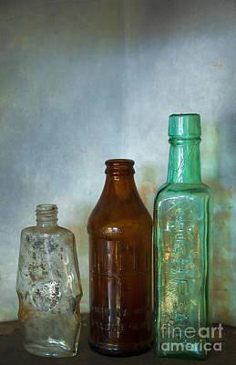 Bottles Art Print by Svetlana Sewell