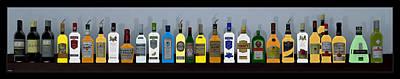 Digital Art - Bottles... by Tim Fillingim