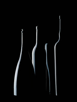 Portugal Photograph - Bottles Waiting by Jorge Pena