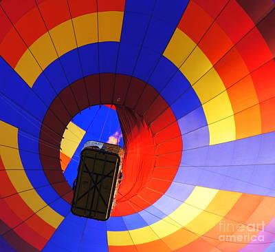 Photograph - Bottom Up by Rachel Munoz Striggow