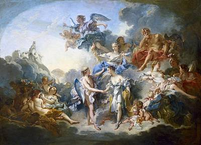 Boucher, Fran�ois 1703-1770. The Art Print