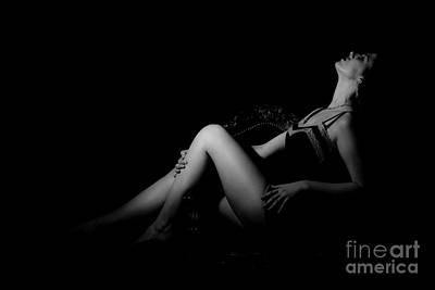 Photograph - Boudoir II by Lesley Rigg