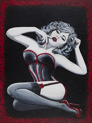Painting - Boudoir by Nickie Bradley