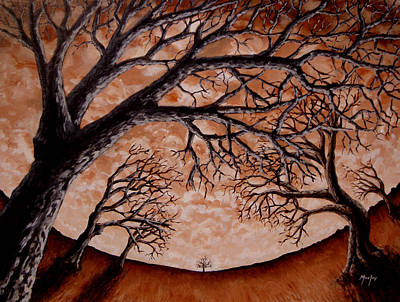 Painting - Bough Down by Michael Ivy
