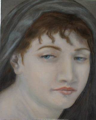 Painting - Bouguereau Study by Roena King