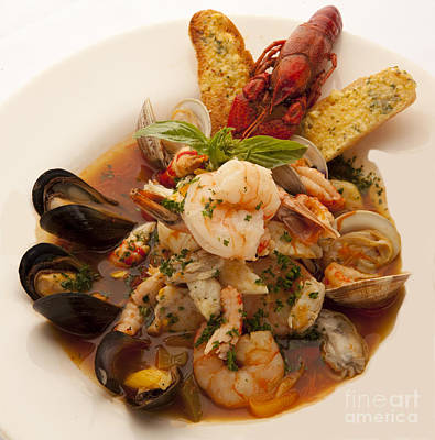 Photograph - Bouillabaise by New  Orleans Food